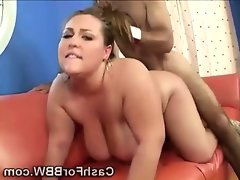 Big beautiful lady gets doggyfucked..