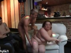 Bbw friends having a great time..