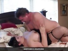 Bbw kelly shibari fucked in fishnets