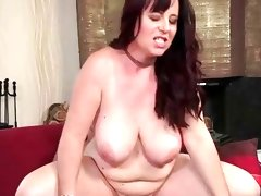 Busty mature bitch enjoys hard sex
