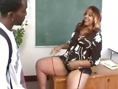 Candy girl-big butt black teacher