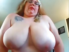 Big tits amateur riding cock