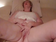 Short hair blonde bbw gilf