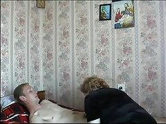 Mom sons friend russian mature granny..