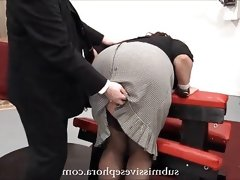 Milf secretary pays the price