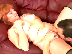 Chubby redhead calliste was fucked in..
