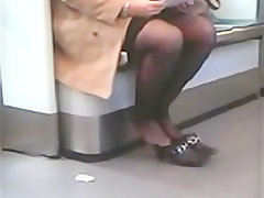 Bbw high heels stockings candid