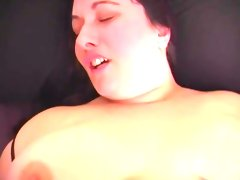 Chubby whore can t wait for cock train..