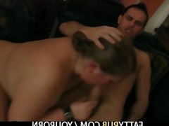 Bbw jumps on hard cock after blowjob