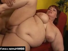 Bbw jezzebel joli banged and jizzed on