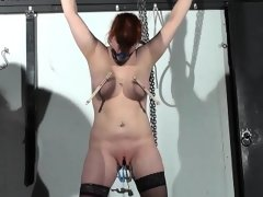 Swedish submissive vicky valkyrie tied..