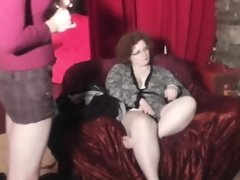 Really fat milf and her friend in..