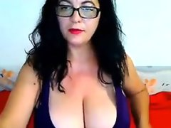 Mature woman with big breasts
