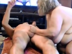 Aged amateur couple rimming sucking..