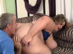 Giant titty mandy majestic takes a fat..